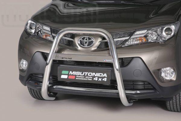 Toyota Rav 4 2013 2015 - EU engedélyes Gallytörő rács - magasított - mt-214