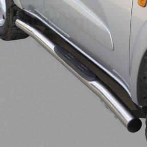 Toyota Rav 4 3 5 Ajtos 2000 2003 - Csőküszöb, műanyag betéttel - mt-178