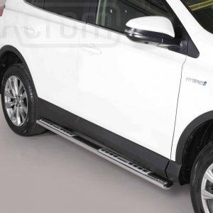 Toyota Rav 4 Hybrid 2016 2018 - ovális oldalfellépő betéttel - mt-111