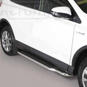 Toyota Rav 4 Hybrid 2016 2018 - Lemezbetétes oldalfellépő - mt-221