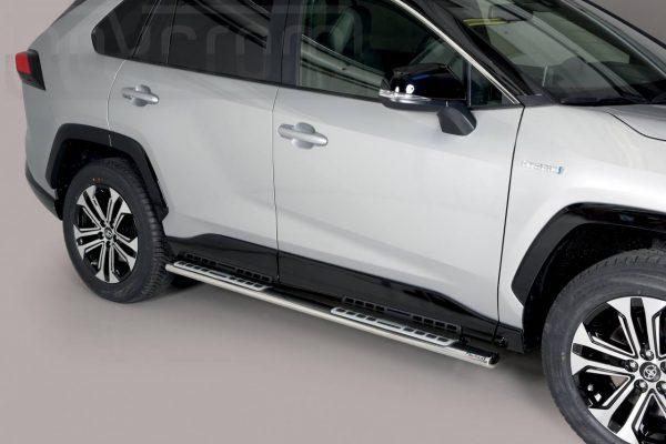 Toyota Rav 4 Hybrid 2019 - ovális oldalfellépő betéttel - mt-111