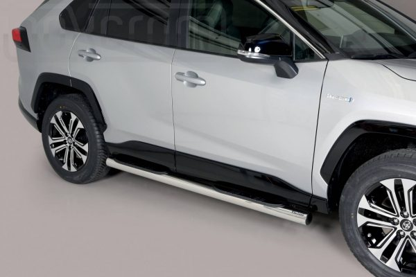 Toyota Rav 4 Hybrid 2019 - Csőküszöb, műanyag betéttel - mt-178