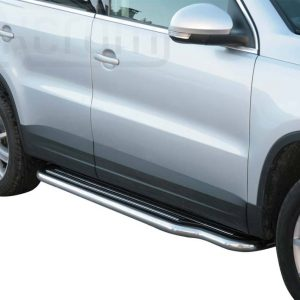 Volkswagen Tiguan 2008 2011 - Lemezbetétes oldalfellépő - mt-221