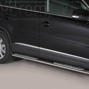 Volkswagen Tiguan 2011 2015 - ovális oldalfellépő betéttel - mt-111